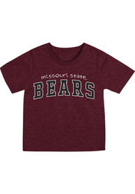 Missouri State Bears Infant Colosseum Arch Rally Loud T-Shirt - Maroon