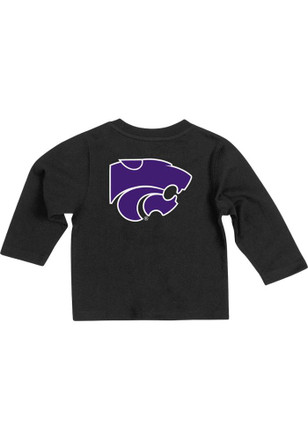 Colosseum K-State Wildcats Baby Black Arch Rally Loud T-Shirt