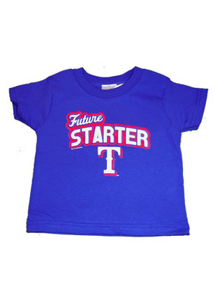 Texas Rangers Toddler Blue Future T-Shirt
