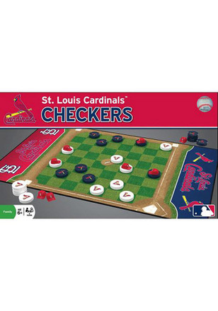 St Louis Cardinals Checkers Game
