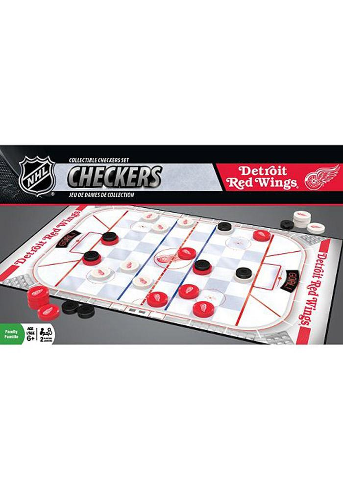 Detroit Red Wings Checkers Game - Image 1