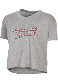 Cincinnati Bearcats Womens Alternative Apparel Headliner T-Shirt - Grey