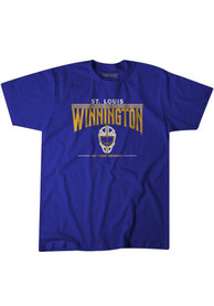 Jordan Binnington BreakingT Winnington T-Shirt - Blue