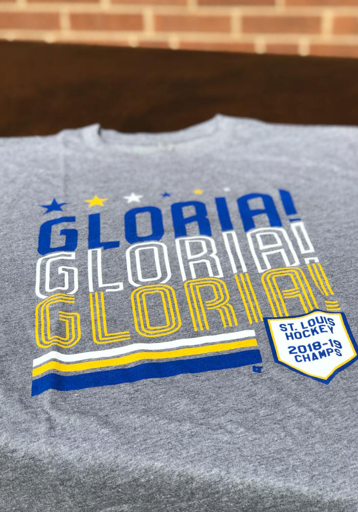 BreakingT St Louis Grey Gloria X 3 Fashion Tee - Image 2