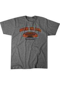 BreakingT Cleveland Grey Believe The Hype Fashion Tee