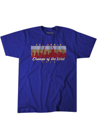 BreakingT St Louis Blue Champs Of The West Fashion Tee