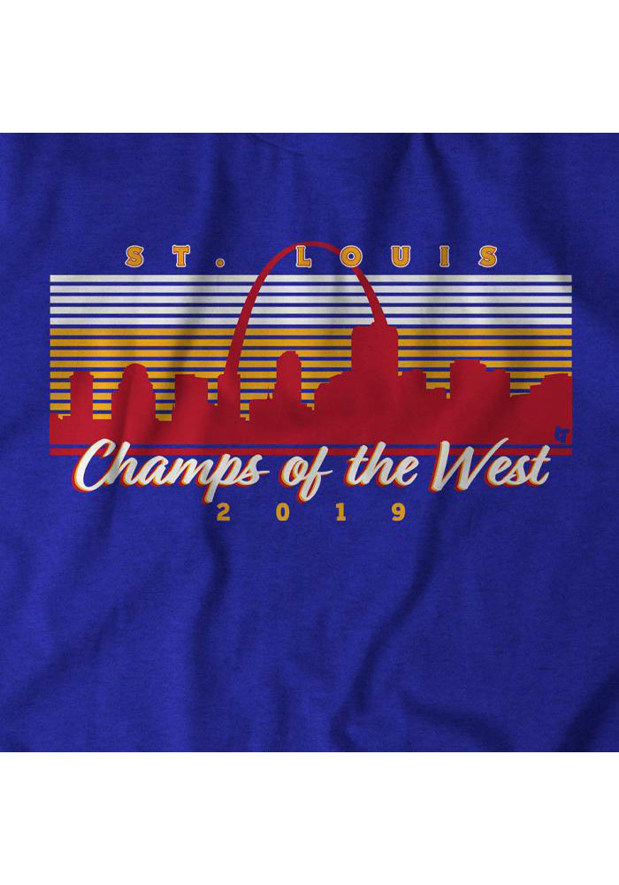 BreakingT St Louis Blue Champs Of The West Fashion Tee - Image 2