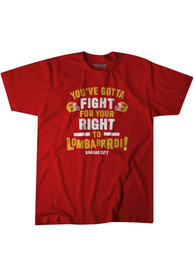 Kansas City BreakingT Fight for Your Right Fashion T Shirt - Red
