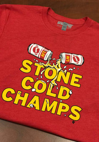 BreakingT Kansas City Red Stone Cold Champs Fashion Tee