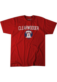 Philadelphia Phillies BreakingT Clearwooder Fashion T Shirt - Red