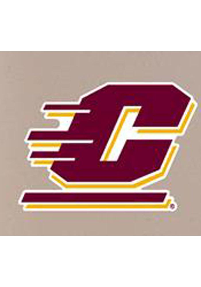 Central Michigan Chippewas Mini Wallee Logo Sign - Image 1