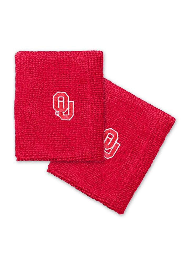 Oklahoma Sooners 2 Pack Mens Wristband - Image 1