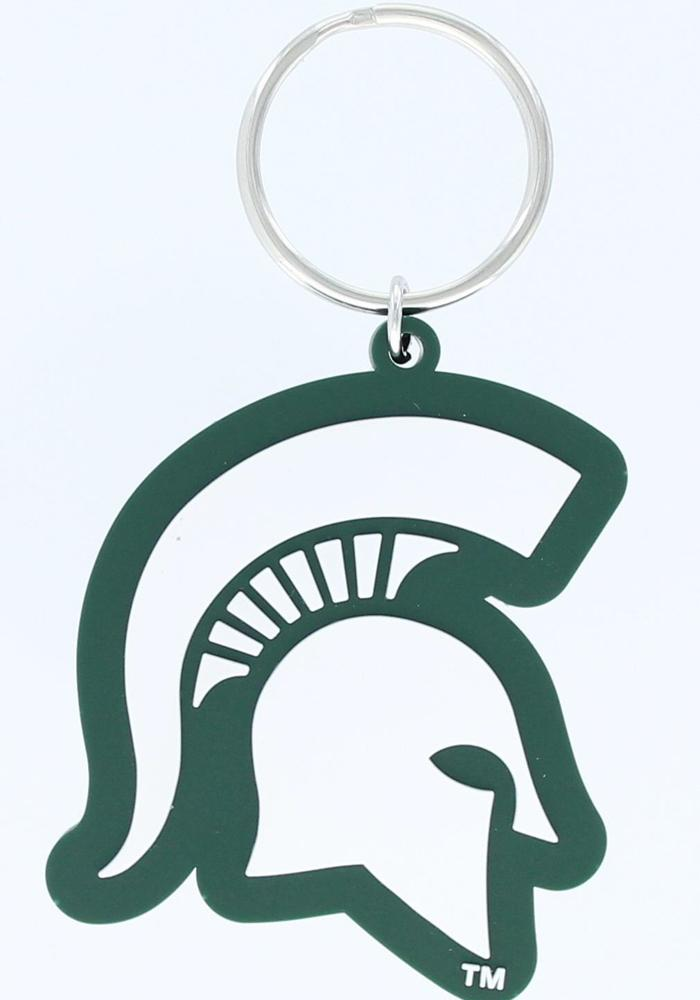 Michigan State Spartans PVC Keychain - Image 1