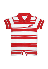 Dayton Flyers Baby Red Rugby Polo One Piece