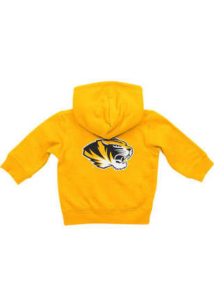 Colosseum Missouri Tigers Baby Gold Rally Loud Full Zip Jacket