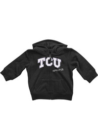 Colosseum TCU Horned Frogs Baby Black Rally Loud T-Shirt