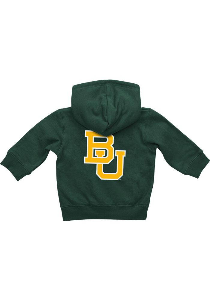 Colosseum Baylor Bears Baby Green Rally Loud Long Sleeve Full Zip Jacket - Image 1