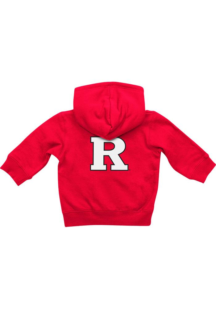 Colosseum Rutgers Scarlet Knights Baby Red Rally Loud Long Sleeve Full Zip Jacket - Image 1