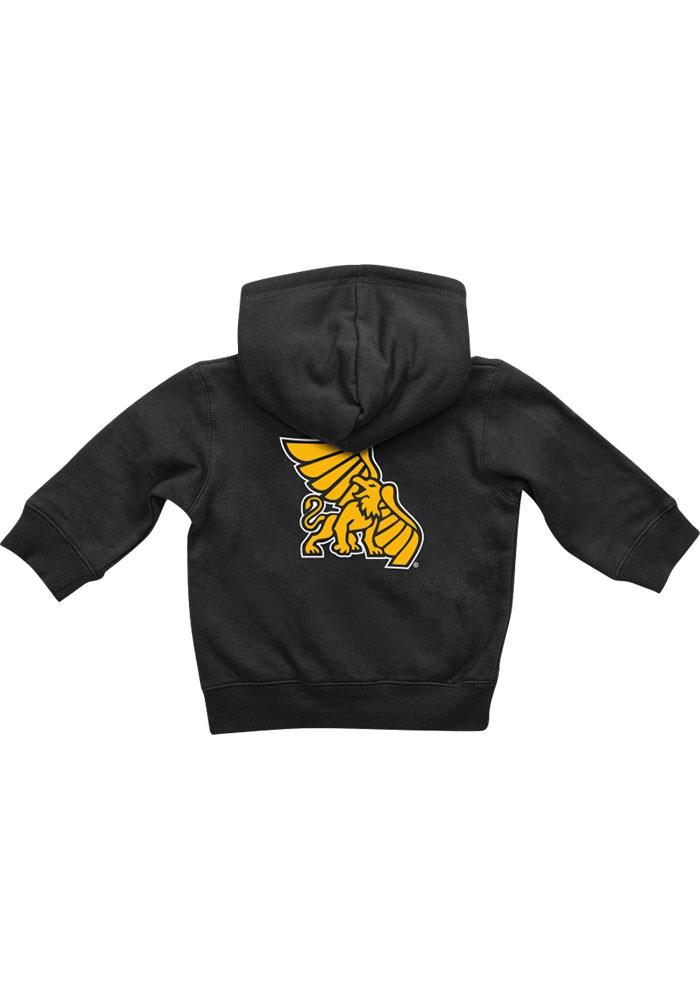 Colosseum Missouri Western Griffons Baby Black Rally Loud Long Sleeve Full Zip Jacket - Image 1