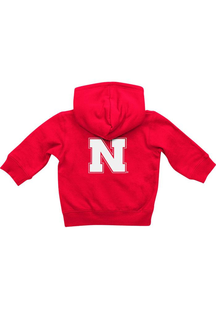 Colosseum Nebraska Cornhuskers Baby Red Rally Loud Long Sleeve Full Zip Jacket - Image 1