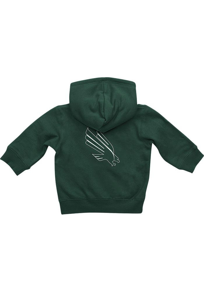 Colosseum North Texas Mean Green Baby Green Rally Loud Long Sleeve Full Zip Jacket - Image 1