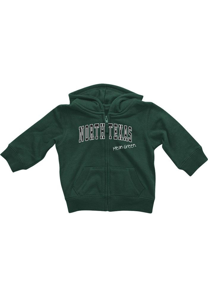 Colosseum North Texas Mean Green Baby Green Rally Loud Long Sleeve Full Zip Jacket - Image 2