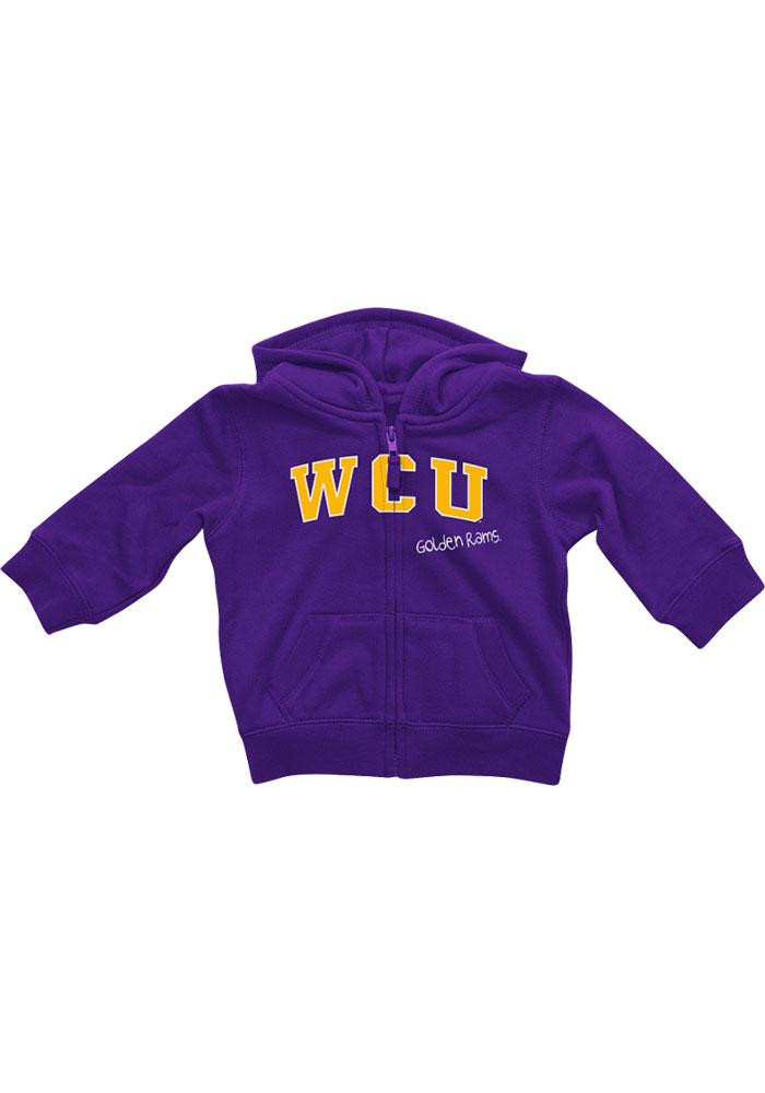 Colosseum West Chester Golden Rams Baby Purple Rally Loud Long Sleeve Full Zip Jacket - Image 2