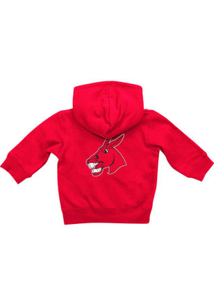 Colosseum Central Missouri Mules Baby Red Rally Loud Full Zip Jacket