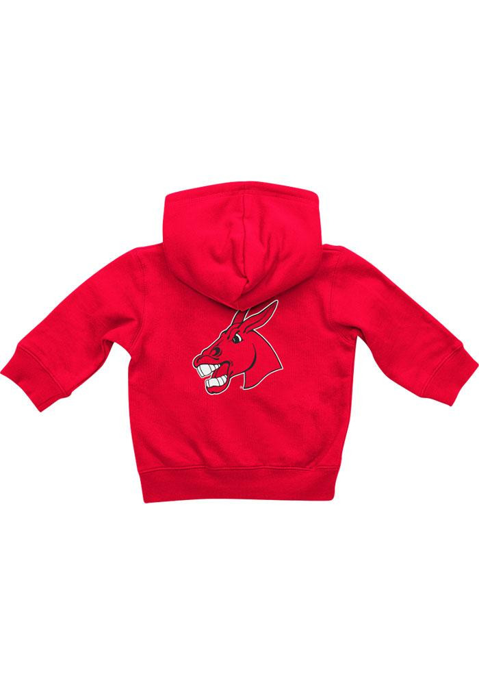 Colosseum Central Missouri Mules Baby Red Rally Loud Long Sleeve Full Zip Jacket - Image 1