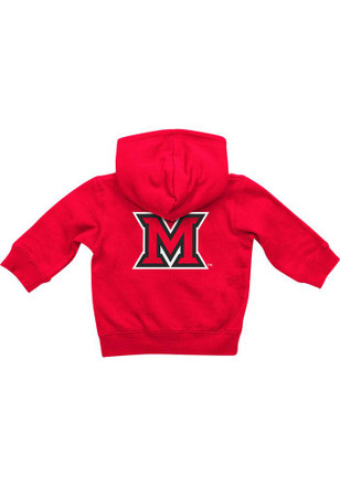 Colosseum Miami Redhawks Baby Red Rally Loud Full Zip Jacket