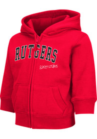 Rutgers Scarlet Knights Toddler Colosseum Arch Full Zip Sweatshirt - Red