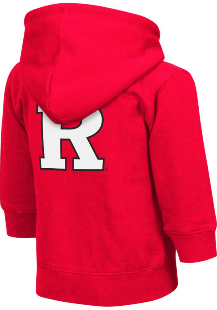 Colosseum Rutgers Scarlet Knights Toddler Red Arch Long Sleeve Full Zip Jacket - Image 1