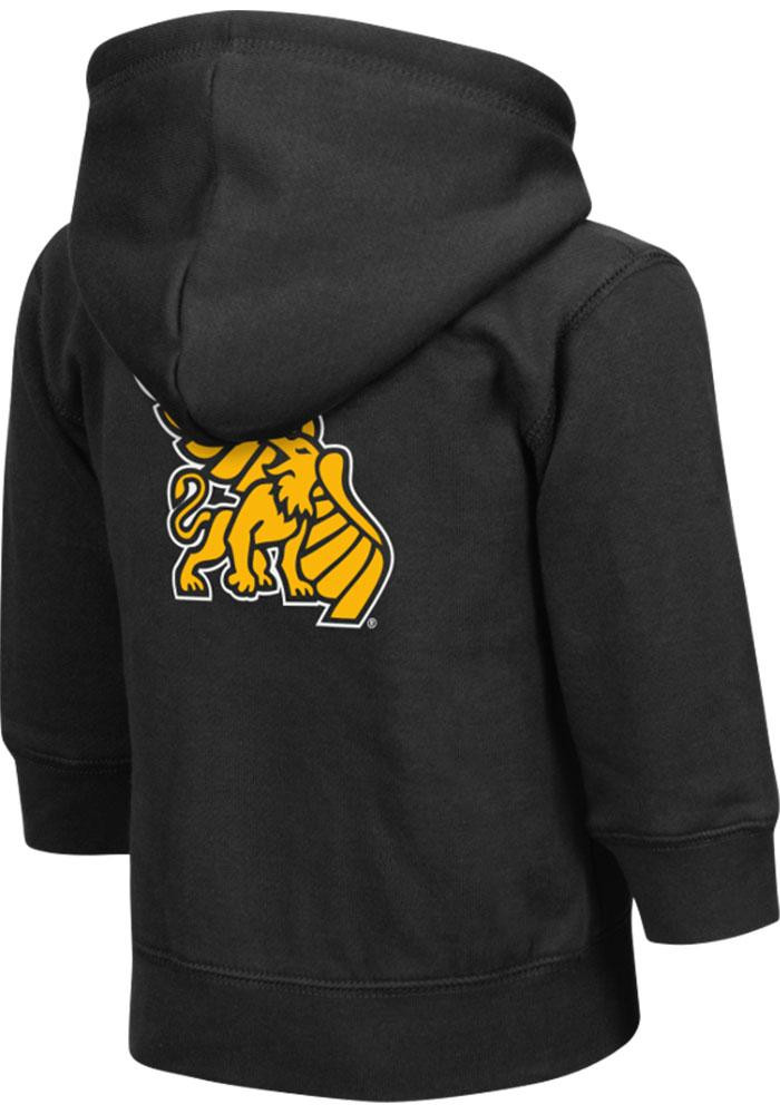 Colosseum Missouri Western Griffons Toddler Black Arch Long Sleeve Full Zip Jacket - Image 1