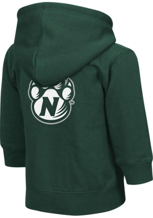 Colosseum Northwest Missouri State Bearcats Toddler Green Arch Full Zip Jacket