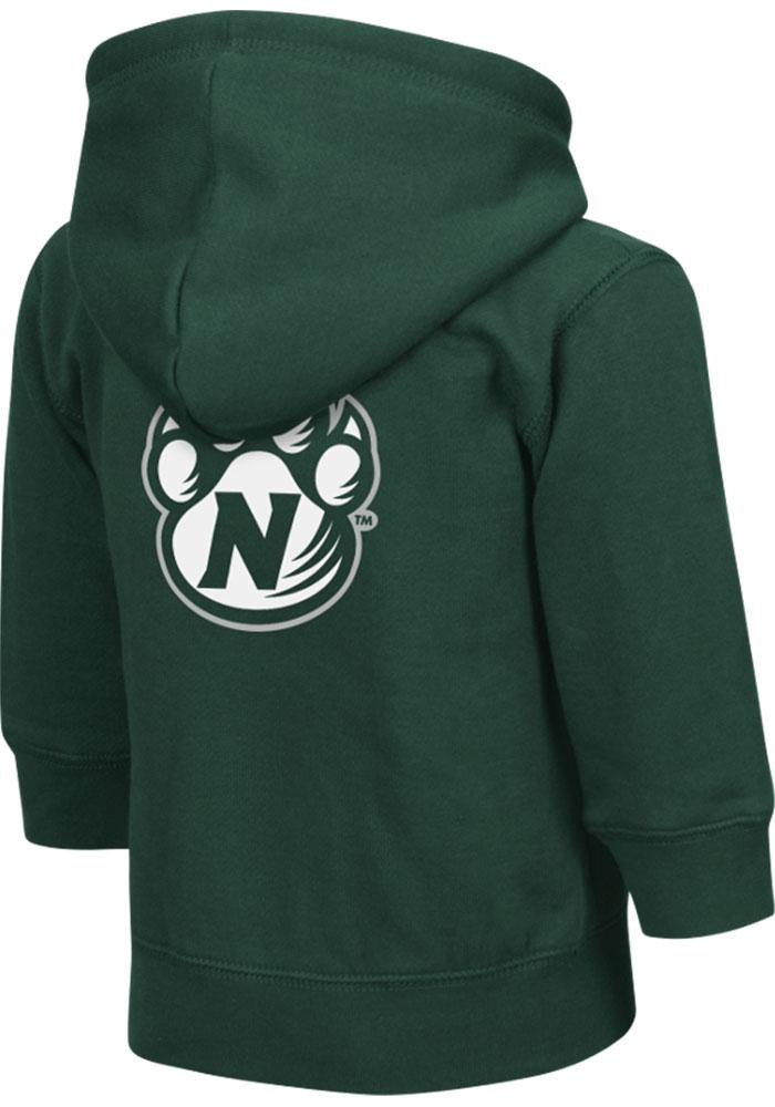 Colosseum Northwest Missouri State Bearcats Toddler Green Arch Long Sleeve Full Zip Jacket - Image 1