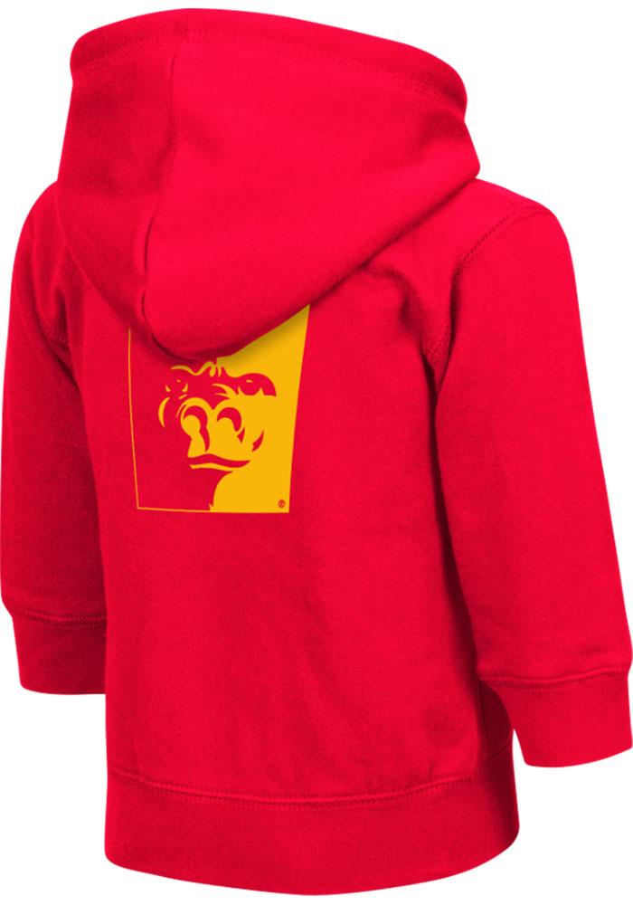 Colosseum Pitt State Gorillas Toddler Red Arch Long Sleeve Full Zip Jacket - Image 1
