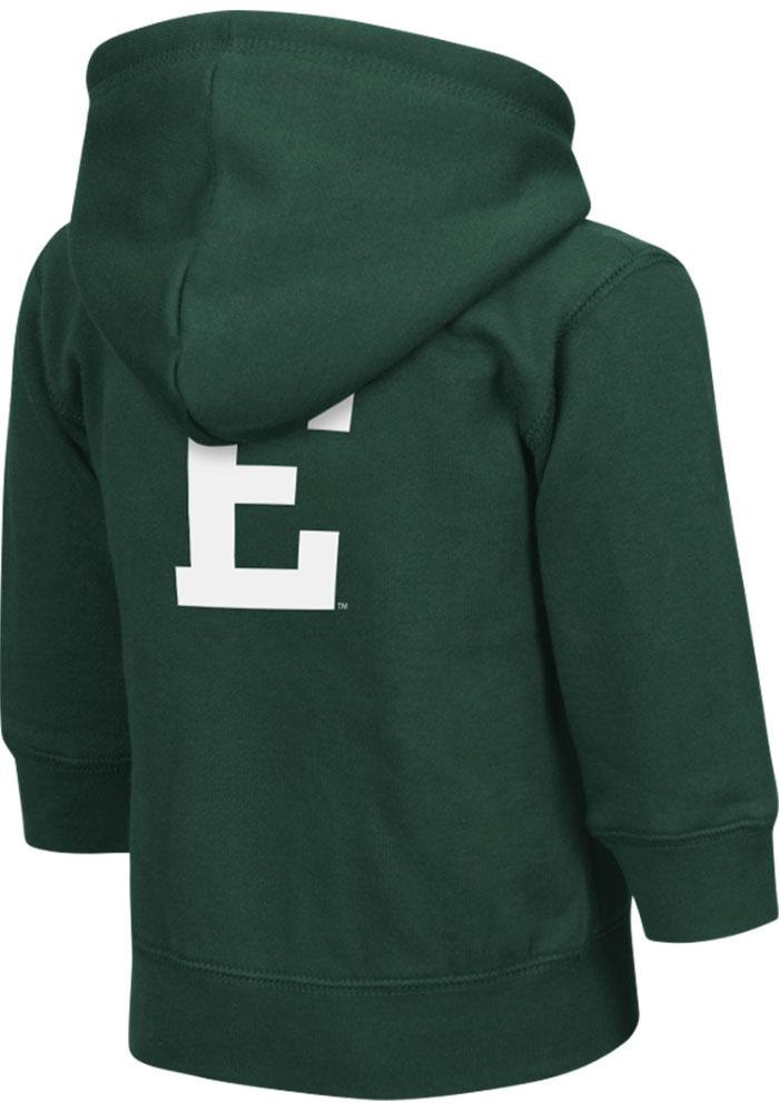 Colosseum Eastern Michigan Eagles Toddler Green Arch Long Sleeve Full Zip Jacket - Image 2