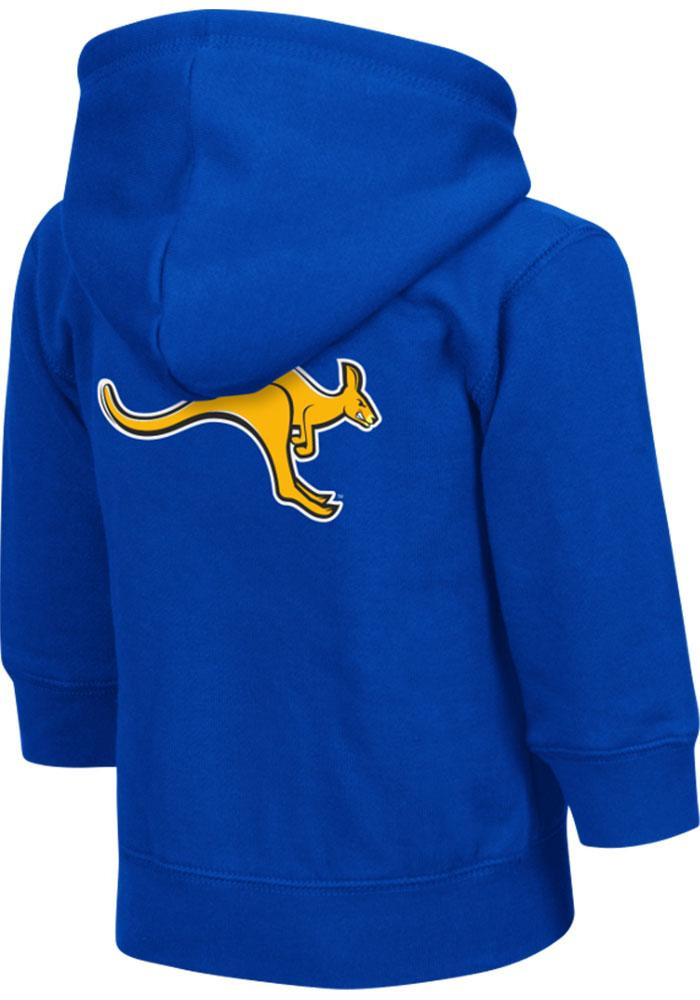 Colosseum UMKC Roos Toddler Blue Arch Long Sleeve Full Zip Jacket - Image 1