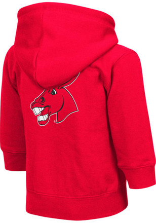 Colosseum Central Missouri Mules Toddler Red Arch Full Zip Jacket