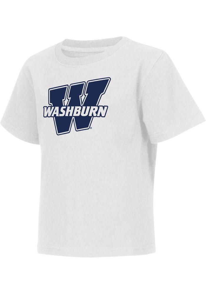 Colosseum Washburn Ichabods Toddler White Rally Loud Short Sleeve T-Shirt - Image 2