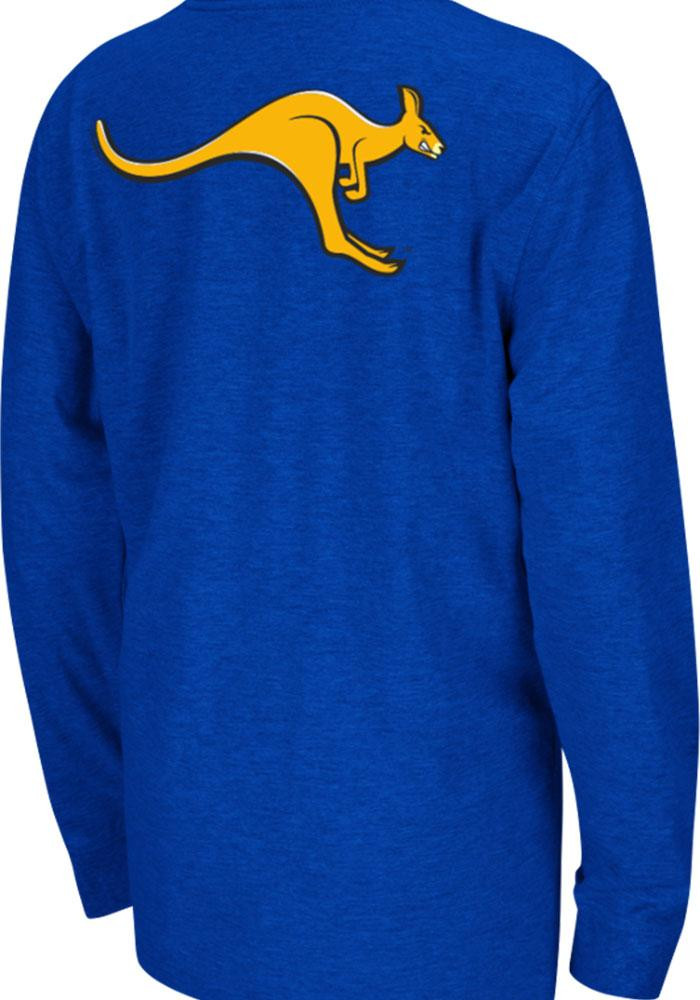 Colosseum UMKC Roos Youth Blue Rally Loud Long Sleeve T-Shirt - Image 1