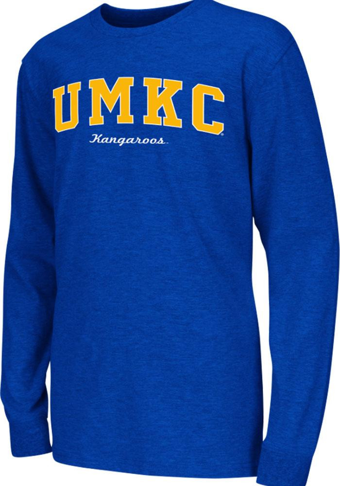 Colosseum UMKC Roos Youth Blue Rally Loud Long Sleeve T-Shirt - Image 2