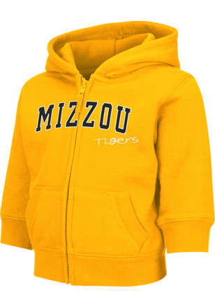 Colosseum Missouri Tigers Toddler Gold Arch Full Zip Jacket