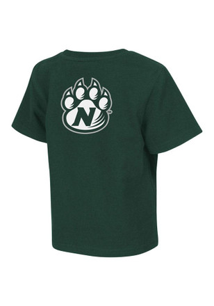 Colosseum Northwest Missouri State Bearcats Toddler Green Rally Loud T-Shirt