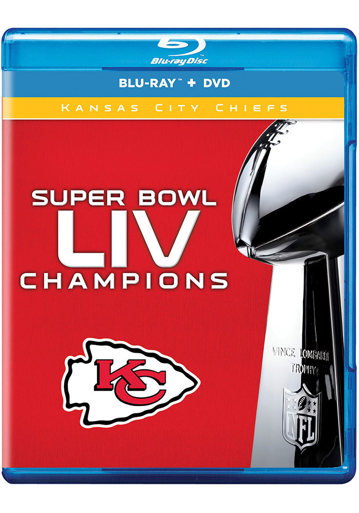 Kansas City Chiefs 2019 Superbowl Championship DVD Blueray Combo CD - Image 1