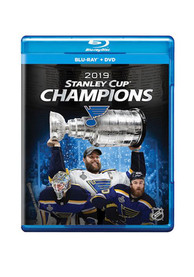 St Louis Blues 2019 Stanley Cup Champions DVD Blue Ray Combo CD