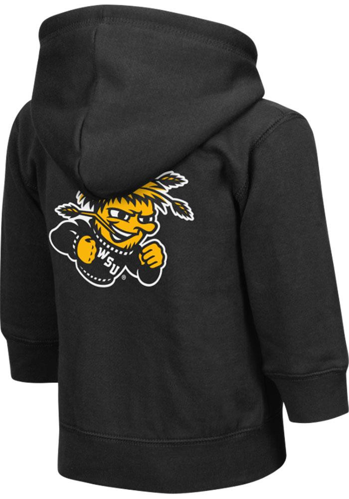 Colosseum Wichita State Shockers Toddler Black Arch Long Sleeve Full Zip Jacket - Image 1