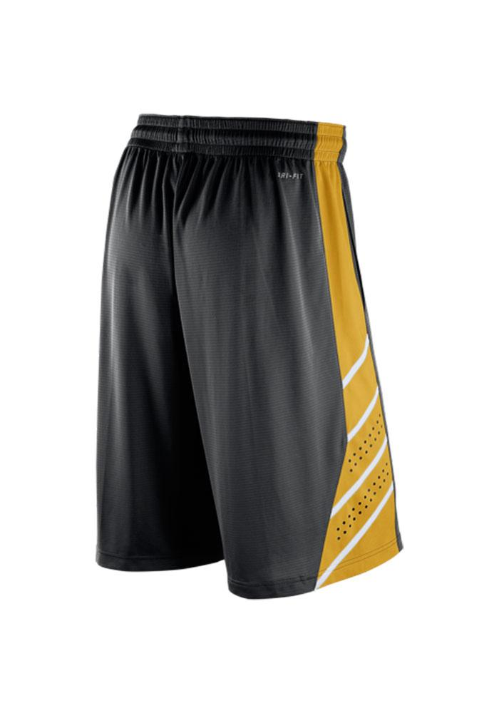 Nike Missouri Tigers Mens Black Knit Performance Shorts - Image 2