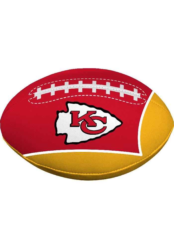 Kansas City Chiefs Quick Toss 4g Softee Football - Image 1
