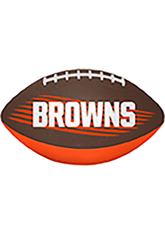 Cleveland Browns Downfield Youth-Size Football - Image 2